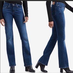 Levi's Jeans 529 Curvy Boot cut Blue size 10